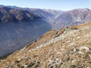 Vista verso alta Valle Stura