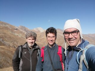 Selfie sul Cappel con in lontananza la Marchisa