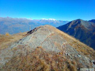 Panorama da Alpe Corquet superiore