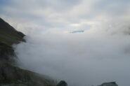 nebbia molto fitta fino al vallone di Molline