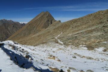 il comodo sentiero per il Col d'Etsely