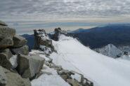 foschie sul Piemonte e nuvolette in alto ma niente freddo