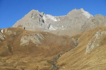 Grande e Petite Golliaz salendo verso il Colle di St Rhemy