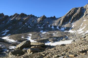 il sentiero per il Col des Ceingles