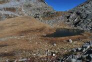 Il Lago Lammer salendo al Colle di Loo