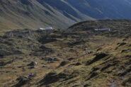 Gli alpeggi di Malatra e Giuè superiore entrando nell'alto vallone di Malatra