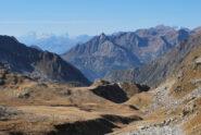 Monte Bianco e Monte Rosa dal Colle di Loo