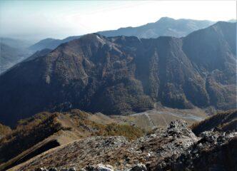 Vista sul Rifugio Jervis