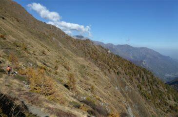 Scendendo verso Alpe Crosenna