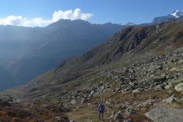 Salendo alla quota 2305 m