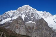 Il Monte Bianco dalla cima.