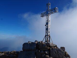 La croce di Cima Forni Alti.