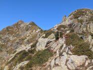 Nei pressi di Col Asni orma prossimi alle ultime risalite verso Punta Rama