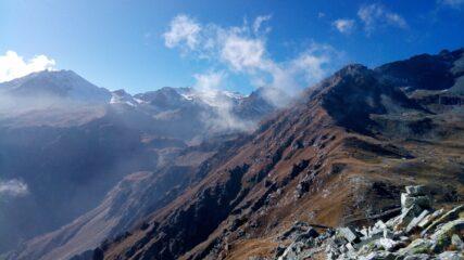 Val Clarea (sx) e Passo Avanzà