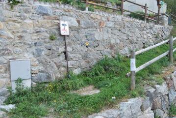 Partenza da Gaby, sul Grande Sentiero Walser