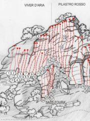 Schema parete (cuneoclimbing.it)