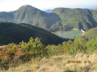 In basso il Lago Val Noci