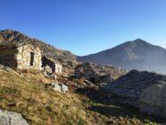 Alpe Beccua e sella tra verzel e Quizeina.