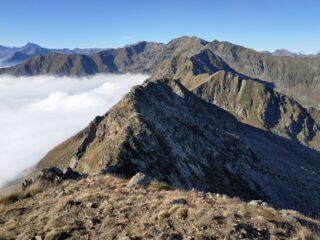 Cresta Beltrando vista dalla Verzel.