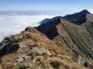 La cresta Beltrando vista dal Rama.